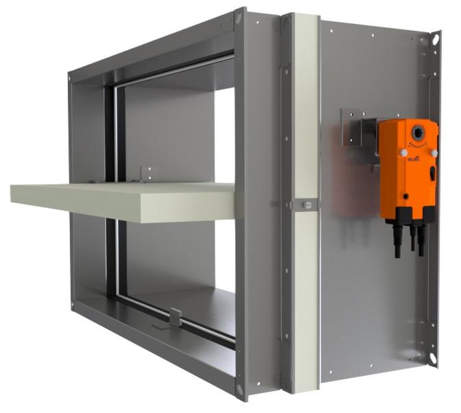 Przeciwpożarowa klapa odcinająca do instalacji wentylacyjnych V370-TC