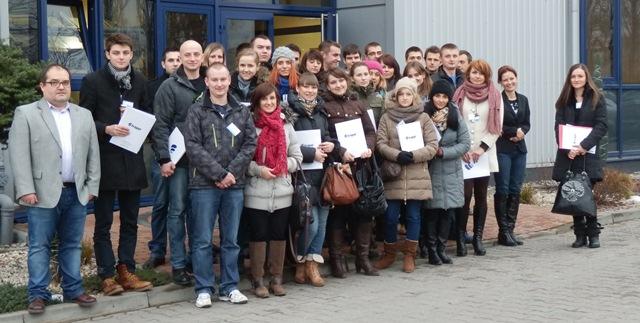 Studenci z Politechniki Lubelskiej z wizytą we FRAPOLU