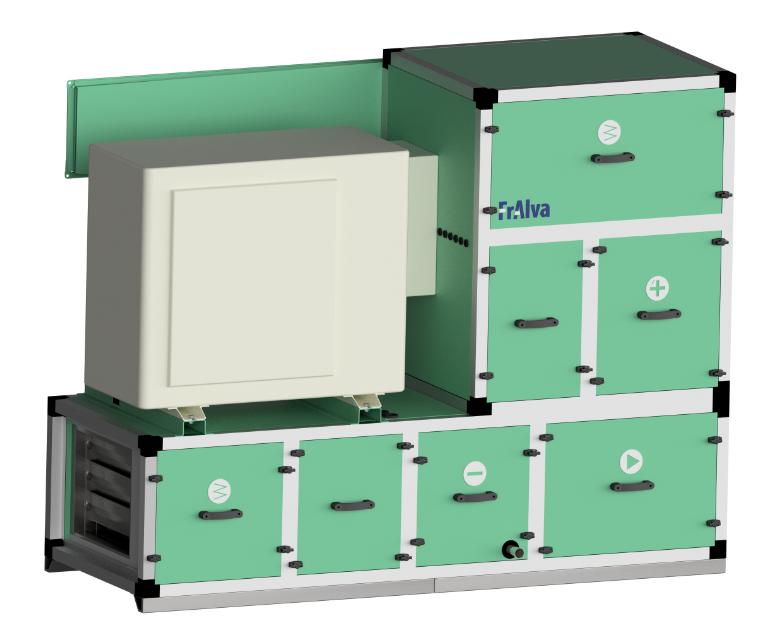 FrAlva - centrala wentylacyjno-klimatyzacyjna dla mobilnych pomieszczeń medycznych