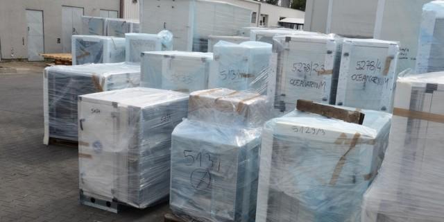 Zakończenie dostaw dla  OCEANARIUM we Władywostoku.