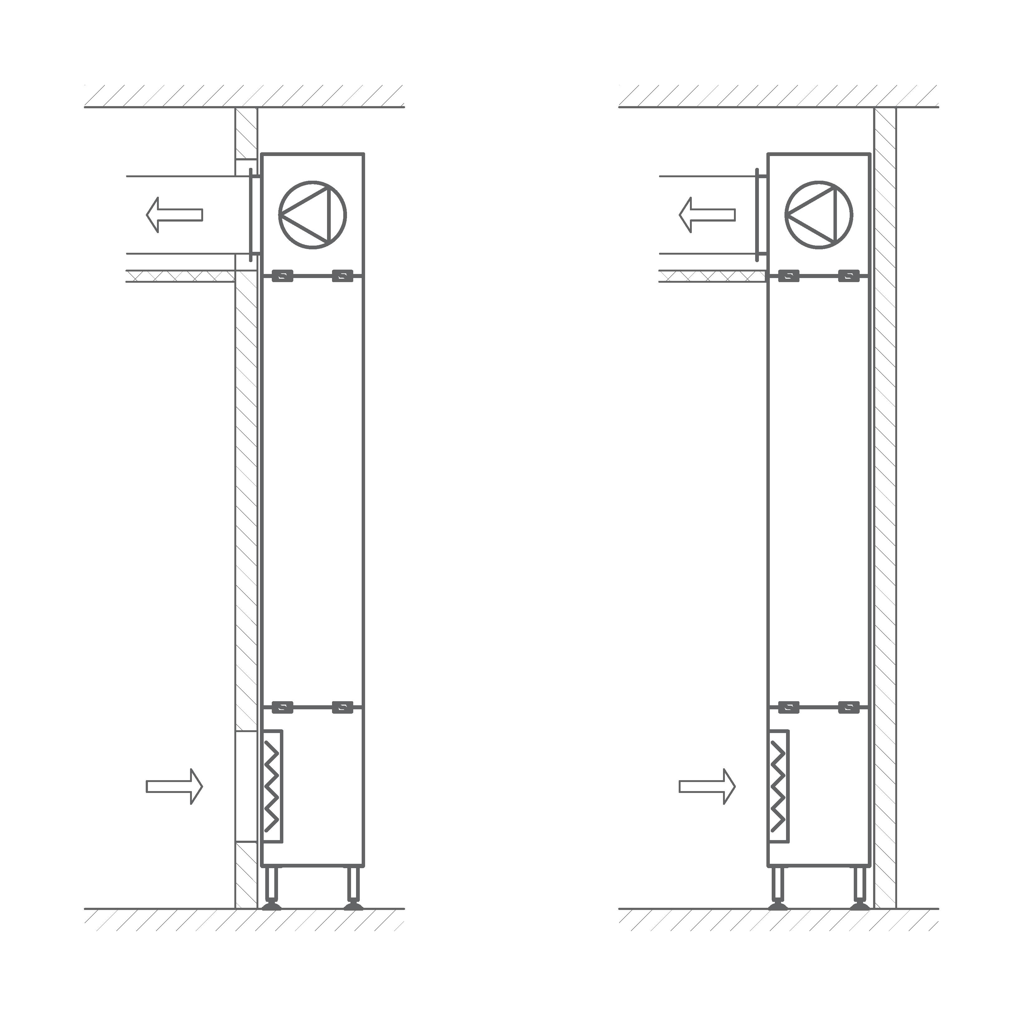 przykład modułu - recyrkulacja powietrza w laboratorium i salach operacyjnych