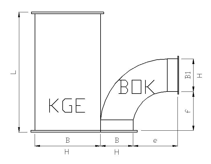 kanały wentylacyjne stalowe prostokątne