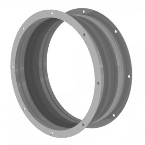 Króciec elastyczny okrągły