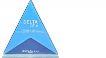 Frapol wśród najlepszych - nagroda Delta 2016