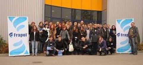 Wizyta studentów z Politechniki Warszawskiej