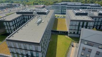 Zespół biurowy Enterprise Park Kraków - wykonanie, dostawa i montaż instalacji wentylacyjnej i klimatyzacyjnej