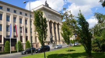 Akademia Górniczo-Hutnicza w Krakowie, sala wykładowa nr 122 w paw. B-4 WIMiIP