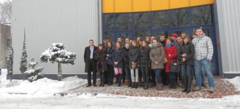 Studenci Politechniki Świętokrzyskiej z wizytą we Frapolu