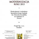 Prestiżowy tytuł Modernizacja Roku 2015 dla Frapol