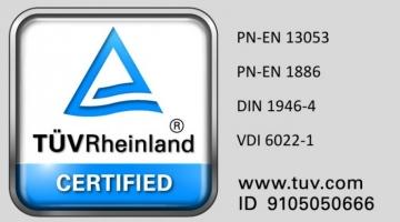 Certyfikaty produktowe TÜV Rheinland