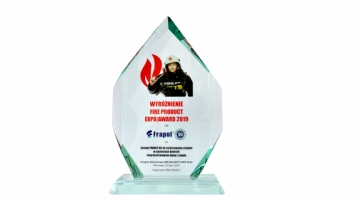 Fire Product Expo Award 2019 dla Systemu Franec RC